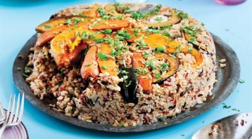אורז ירקות