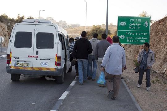 פועלים פלסטינים - צילום אקטיבסטילס
