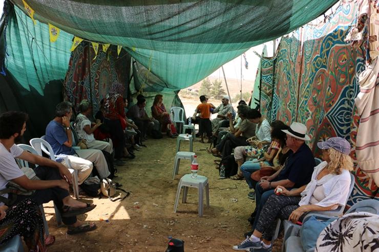 מתוך סיור הדהרמה שקיימנו לאחרונה בסוסיא ואום אל ח'יר